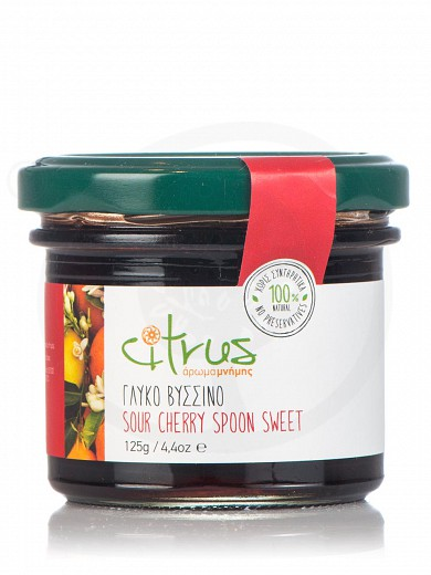 "Traditional sour cherry spoon-sweet from Chios ""Citrus"" 125g"