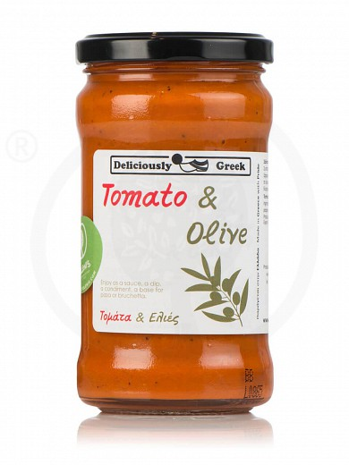 "Traditional tomato & olive sauce from Attica ""Simply Greek"" 280g"