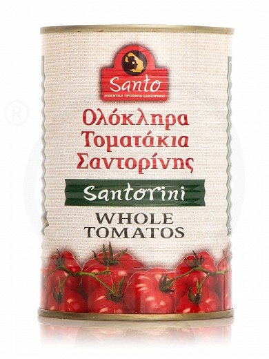 "Whole tomatoes P.D.O. from Santorini ""Santo"" 400g"