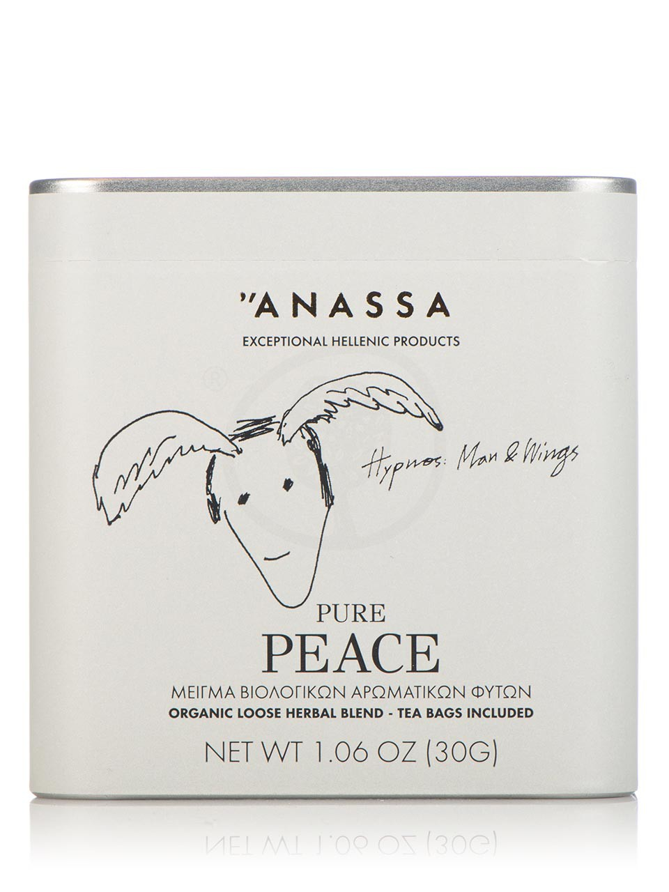 Blend of organic herbs «Pure Peace» from Attica
