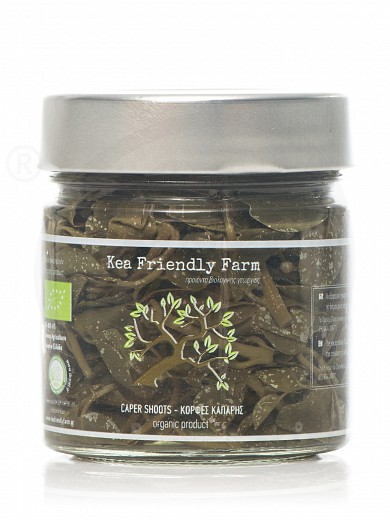 "Organic caper shoots  from Kea ""Kea Friendly Farm"" 230g"
